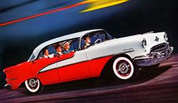 Classic Oldsmobile car